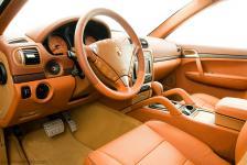Porsche Cayenne панель приборов в цвет салона TechArt