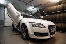 Audi TT LSD открыта дверь