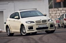 тюнинг Hamann Tycoon для BMW X6 вид спереди