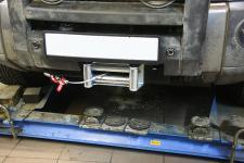 Land Rover Discovery с лебедкой WARN